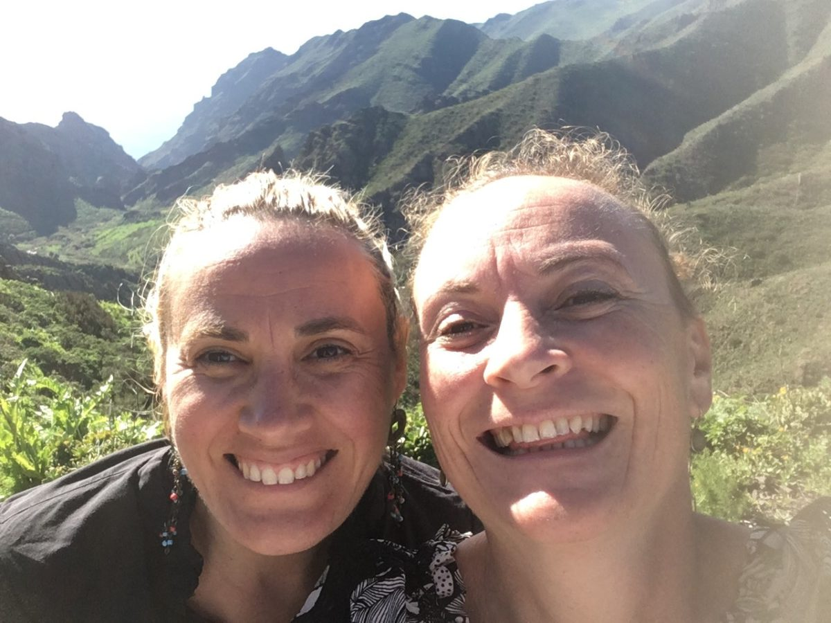 Marlyse Carrasco et Céline Hoyer